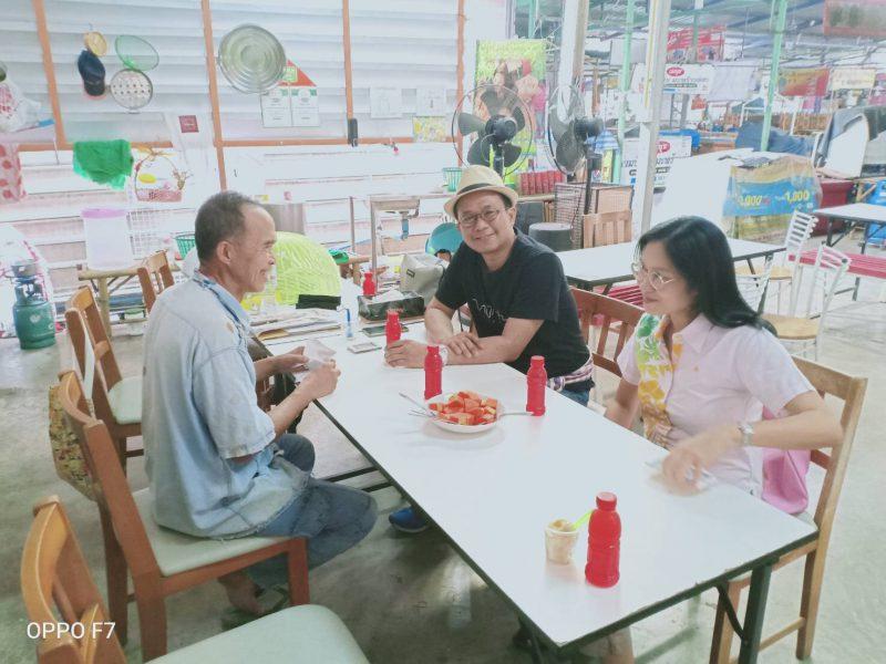ททท.สำนักงานกรุงเทพมหานครเยี่ยมเครือข่ายพันธมิตรด้านการท่องเที่ยวตลาดน้ำคลองลัดมะยม