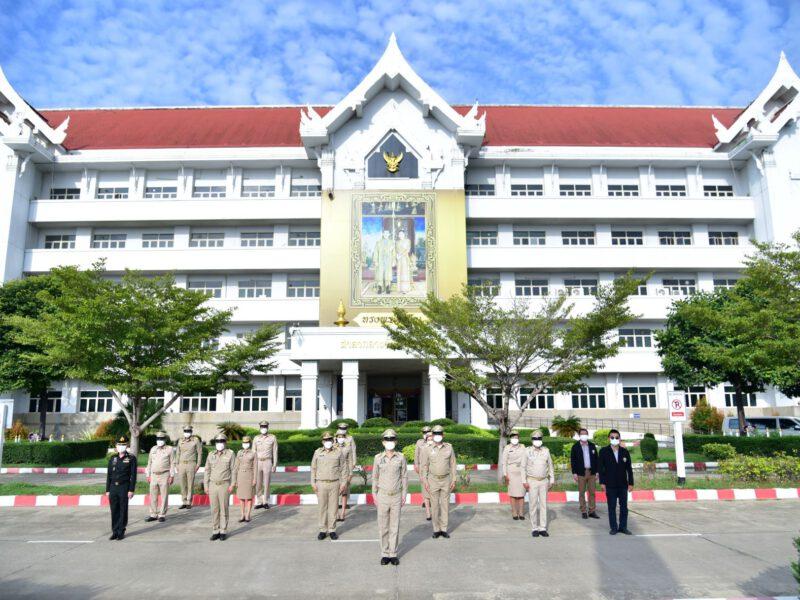 นครปฐม จัดงานวันพระราชทานธงชาติไทย